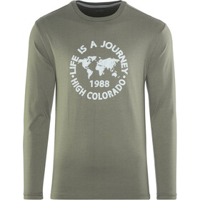 High Colorado Wallis 3 - T-shirt manches longues Homme - olive